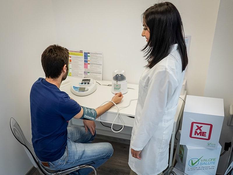 test diagnostici farmacia parma