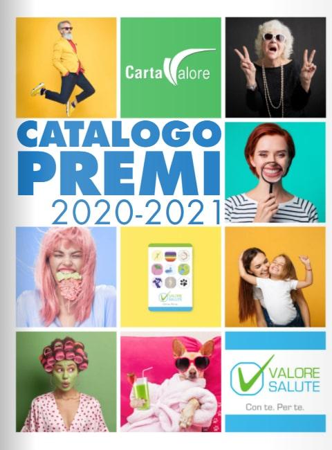 catalogo premi carta valore salute 2020 2021