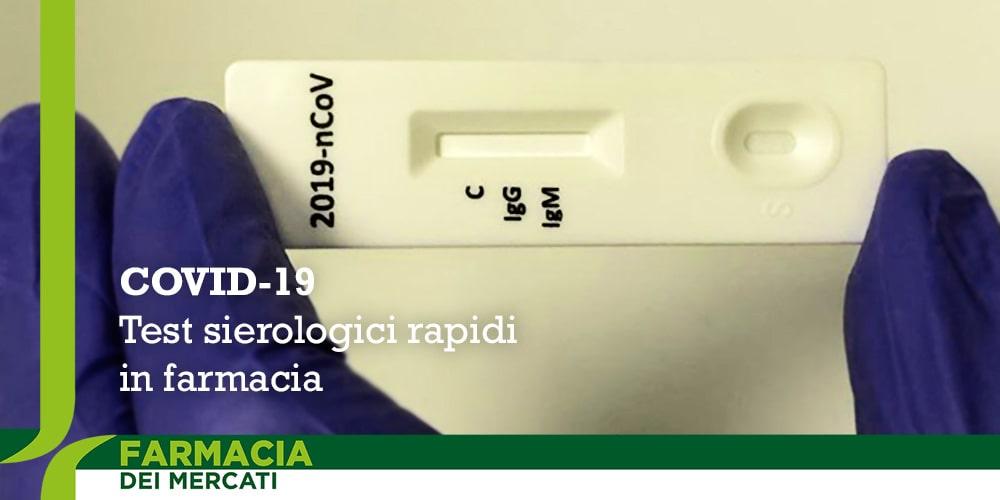 Covid-19 test sierologici rapidi in farmacia a Parma