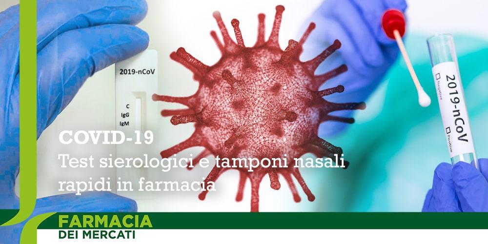 Covid 19 Test sierologico e tampone rapido in farmacia a Parma